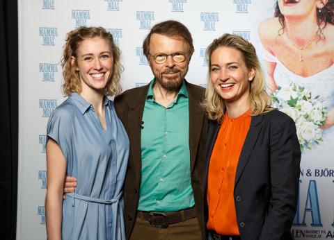 Matilde Zeuner Nielsen, Björn Ulvaeus og Annette Heick