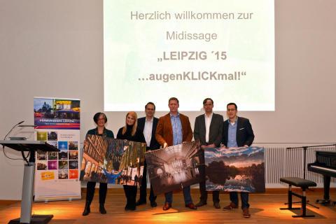 Leipziger Stadtbibliothek zeigt bis zum 11. Juni 2016 die schönsten Motive des Fotowettbewerbs LEIPZIG... augenKLICK mal!