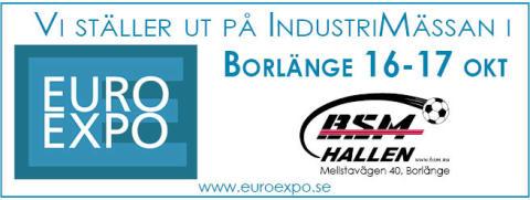 Enerco deltar på industrimässan Euro Expo i Borlänge