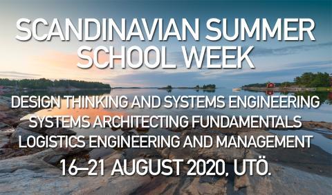 Datum klart för Scandinavian Summer School Week 2020!