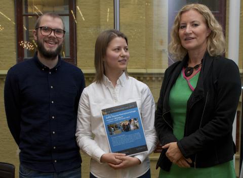 Betha Thorsen vinner Forskerfrøprisen 2016