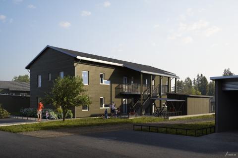 Brf Norra Hammarötassen, Hammarö, Karlstad.