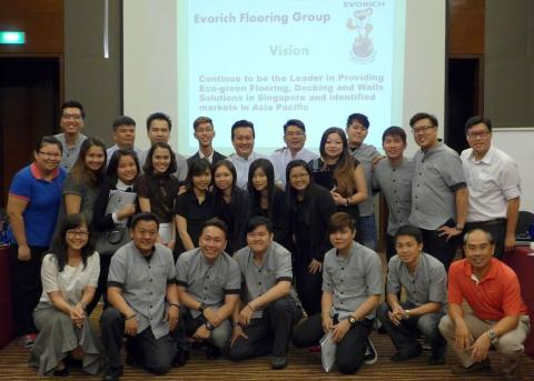 Business Strategic Conference for Evorich Flooring Group