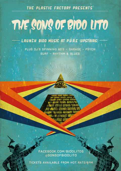 The Sons of Bido Lito poster