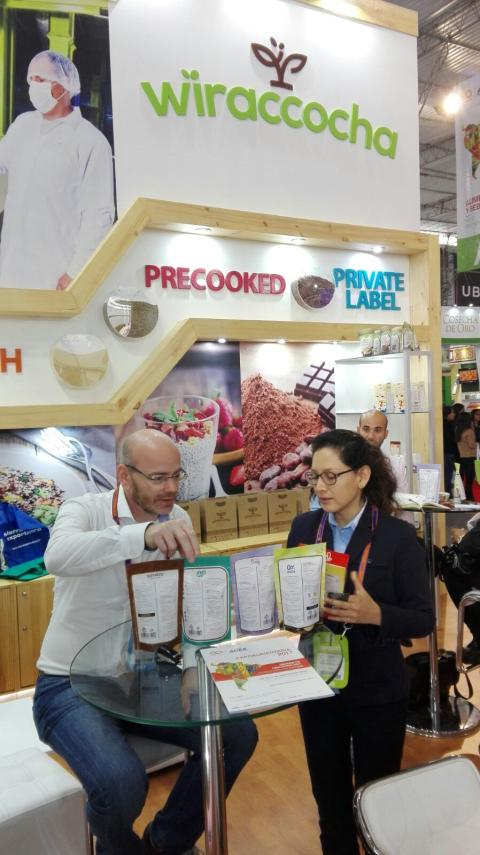 Expo Alimentaria, a great succes for Andean Ingredients