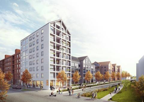 White vann tävling om nya bostäder i Ängelholm