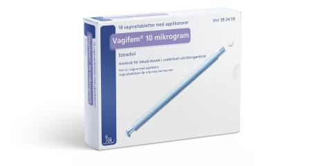 Vagifem® 10 mg 18 pack