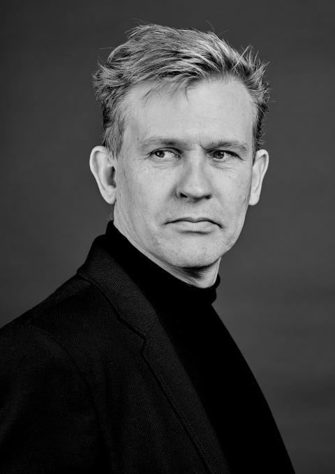 Mikkel Rønnow. Fotograf: Nicky Bonne