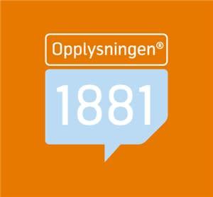 Opplysningen 1881 - logo