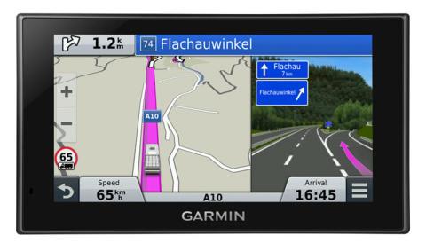 Garmin® Camper® 660 LMT-D med avancerade navigationsfunktioner för husbilar och husvagnar