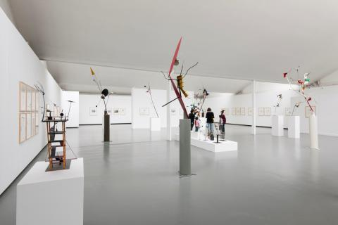 Netherlands artist unveils exhibition at Bury Sculpture Centre