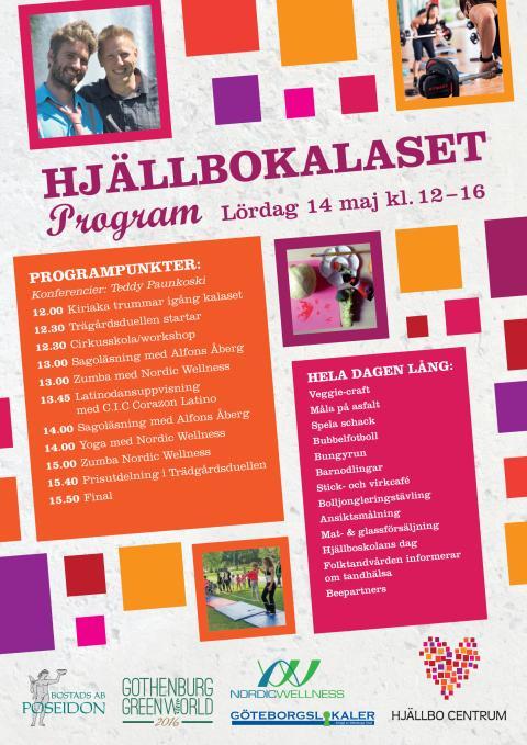 Program Hjällbokalaset 2016