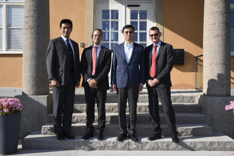 HE Ambassador of Japan Jun Yamazaki  visited ÅAC Microtec in Uppsala, Sweden.