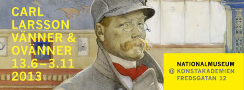 Carl Larsson – vänner & ovänner öppnar den 13 juni