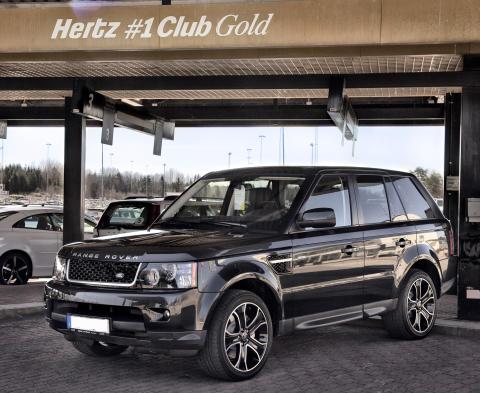 Range Rover och Jaguar – nyheter i Hertz hyrbilsflotta