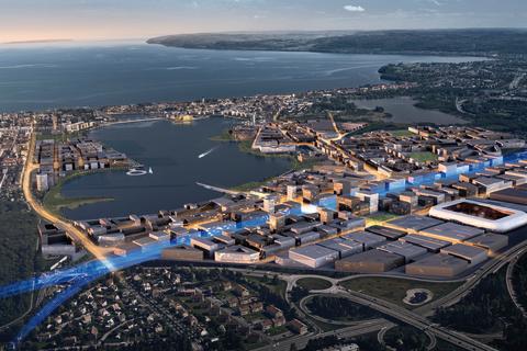 Riksbyggen förvärvar fastighet i området Södra Munksjön, Jönköping