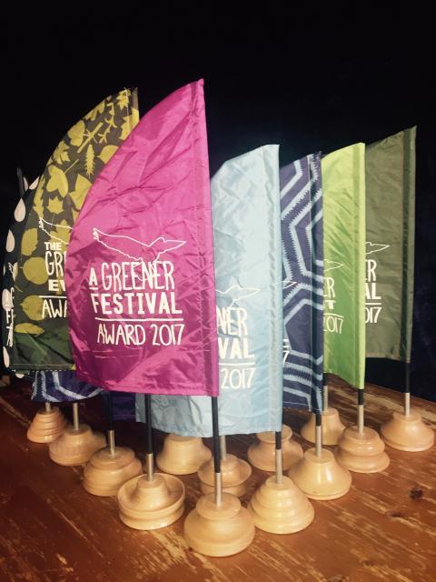A Greener Festival Award 2017
