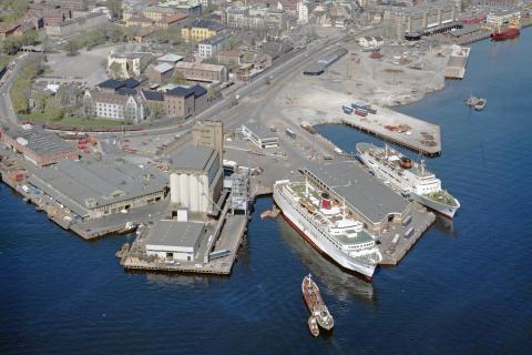 Stena Saga I i Oslo 1982