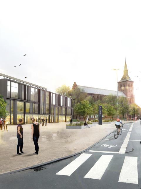 Eksteriør, Danske Bank Odense