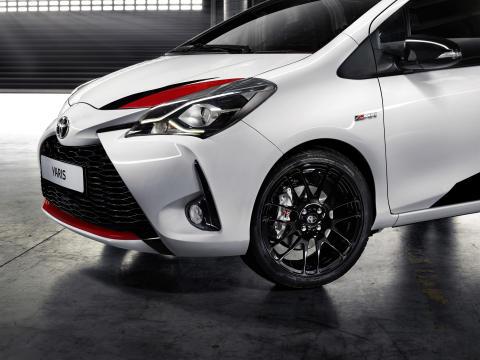 """Toyotas """"super-Yaris"""" GRMN släpps lös på onsdag"""