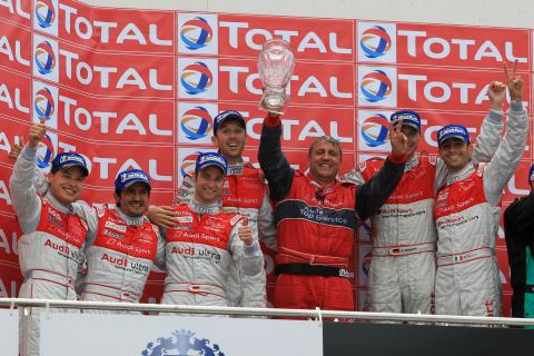Ny historisk framgång för Audi i 24-timmarsloppet på Spa