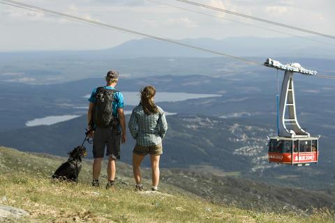 """Åre och SJ satsar på vandringspaketet """"Vandring och vita lakan"""""""