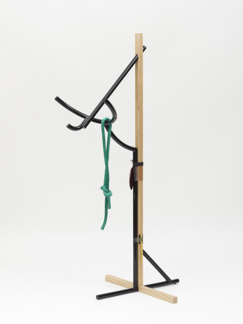 Brynjar Sigurðarson, Silent Village Collection Coat hanger, 2014, Galerie kréo Photo Fabrice Gousset