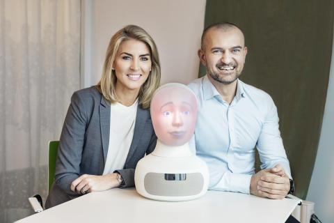 Interview Robot Tengai at In-House Recruitment Live, London