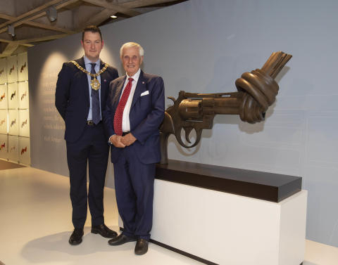 Belfast joins international family of peace and non-violence