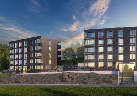 Beviljat bygglov för 36 nya lägenheter i Rönninge