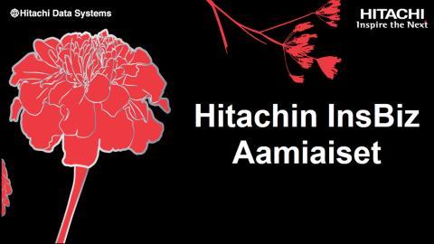 Hitachin InsBiz Aamiainen - Oma pilvi osa 2: Automaatio