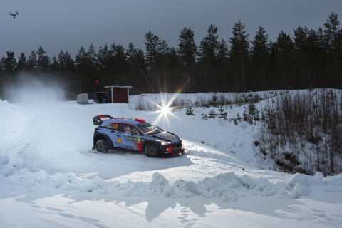 Hyundai Motorsport - Rally Sweden