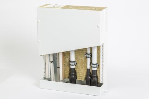 Kombimodul för vatten- och elinstallationer