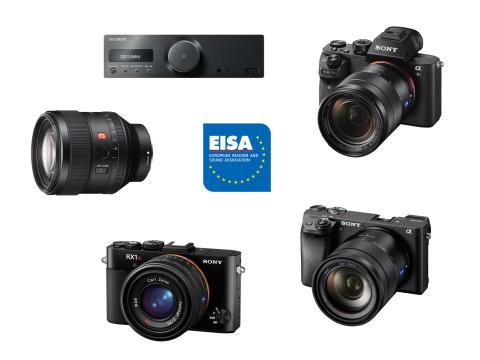 Sony décroche cinq prix EISA 2016