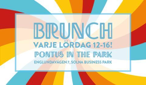 Nu erbjuder Pontus Frithiof lördagsbrunch i Solna