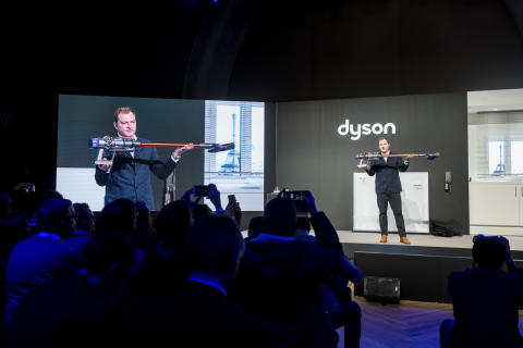 Jake Dyson, Chief Engineer, at Dyson launch event in Paris, 6 March 2018 - 6