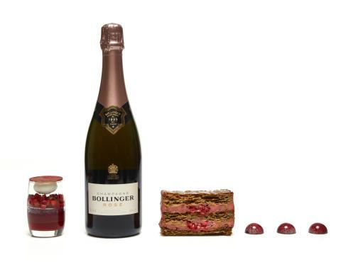 Bollinger Rosé - jordgubbar