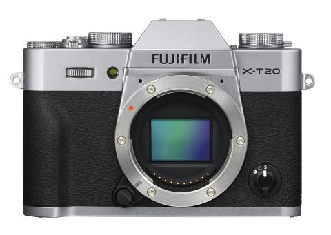 X-T20 Body Silver Front