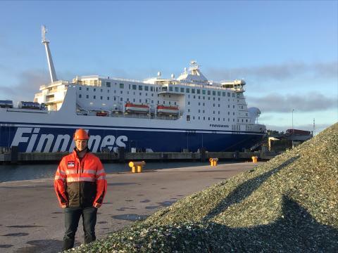Hannu Kallio aloittanut kehitysinsinöörinä Naantalin Satamassa -Hannu Kallio has started as a development engineer (HSSEQ) at the Port of Naantali