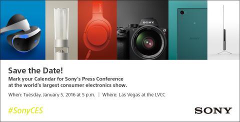 Sony Pressekonferenz CES 2016