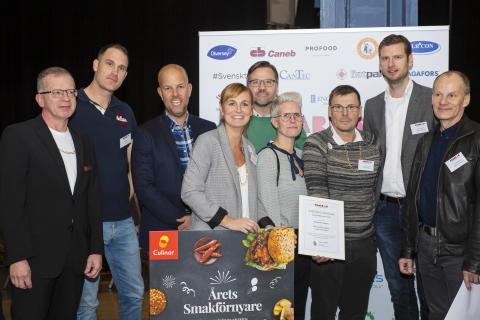 Svenska smaker när Hedersutmärkelserna Årets smakförnyare och Bästa ekologiska produkt delas ut på Chark-SM 2018