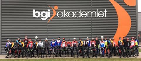 60 unge ryttere har været på DCU-samling