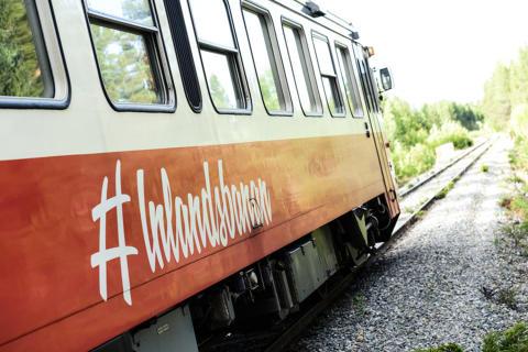 Inlandsbanan, tåg