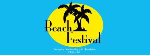 40 ton sand på plats i Nordstan Beach Festival 29/10-4/11