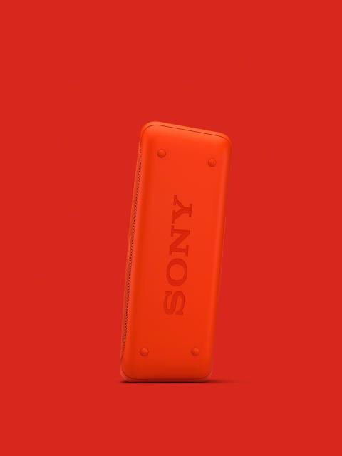 SRS-XB30 von Sony_rot_3