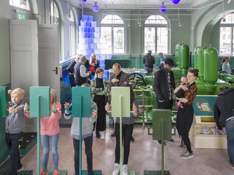 Pumphuset i Uppsala fylls på nytt