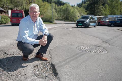 Arne Voll i Gjensidige - nå starter høysesongen for steinsprutskader