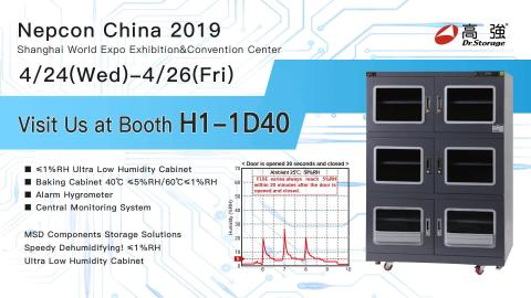Dr Storage -NEPCON China 2019 runs April 24 – 26
