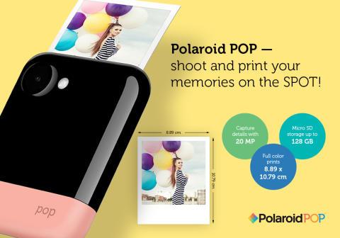 Et helt nyt Polaroidkamera