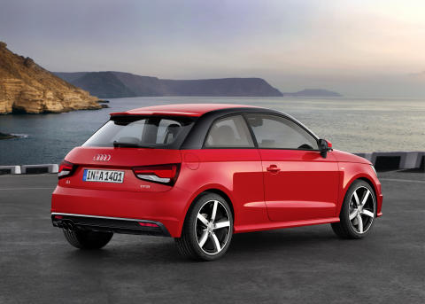 Opdateret Audi A1 – nu også med trecylindrede motorer